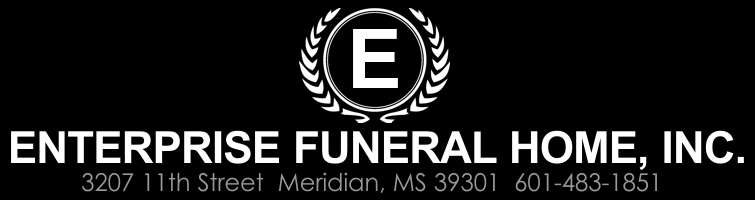 Enterprise Funeral Home, Inc. | Meridian, MS | 601-483-1851